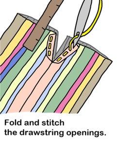 Drawstring Openings