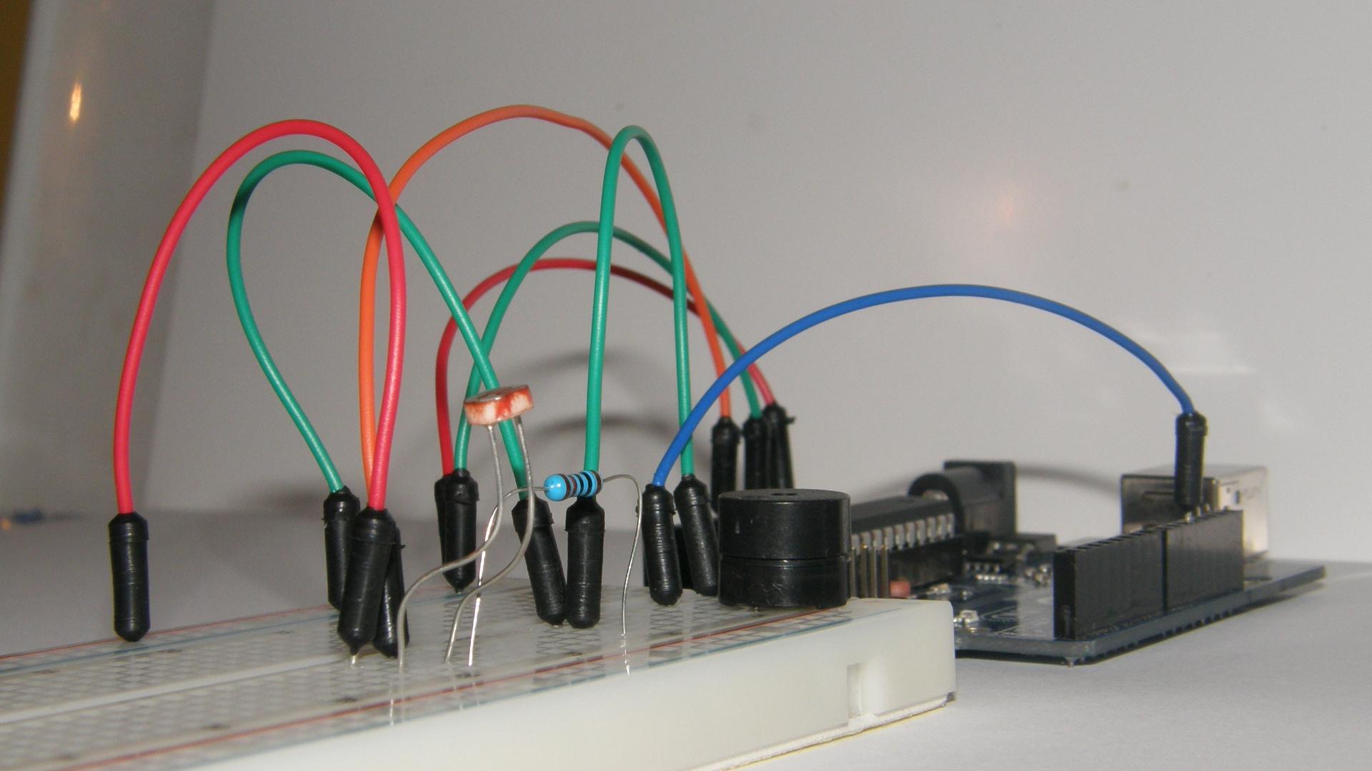 Arduino Laser System-Tripwire Tutorial