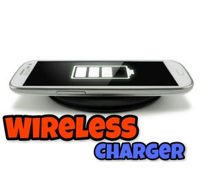 Wireless Charger for Any Mobile    Easy    Simple    BD135