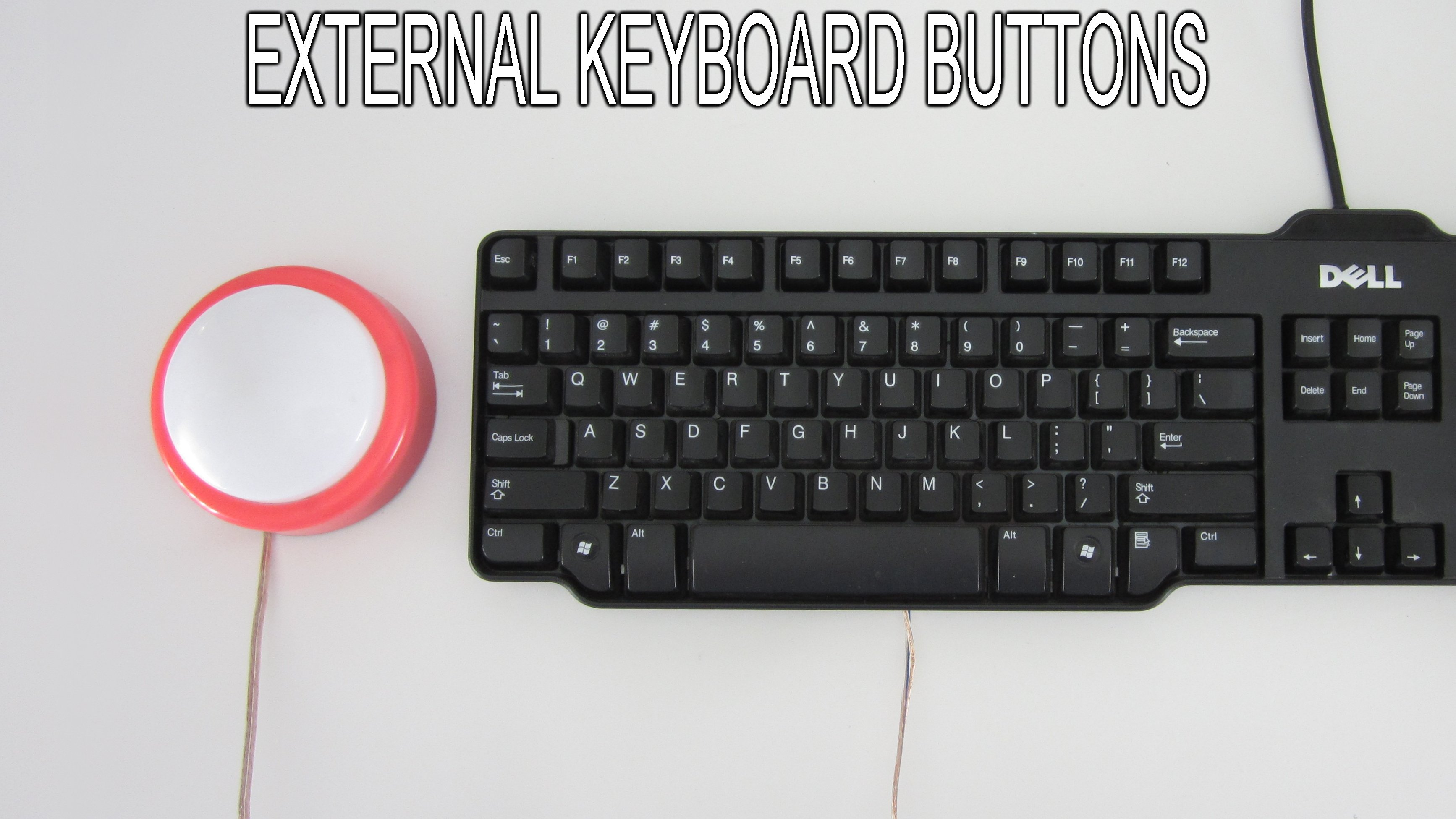 Create External Buttons For Your Keyboard