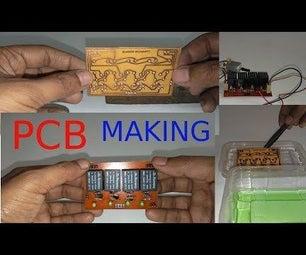 PCB MAKING-COLD TRANSFER METHOD