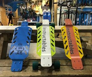 DIY钣金滑板