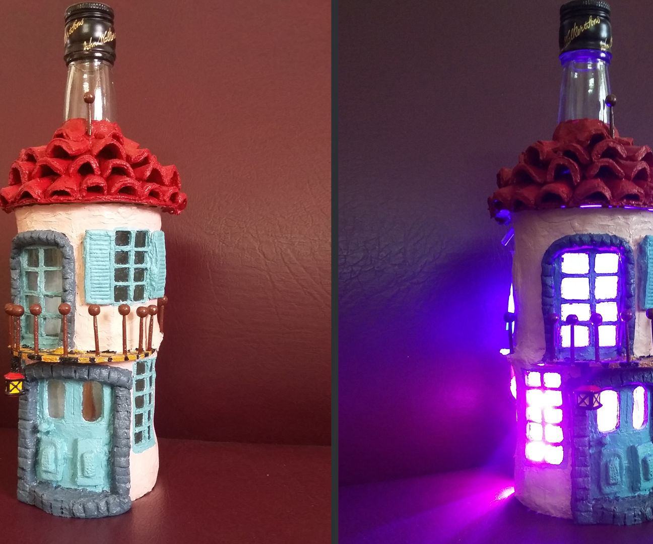 How to Make Bottle House Diorama |Easy Art & Craft Tutorial