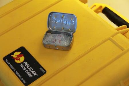 DIY Altoids Tin Camera Case Desiccant Pack
