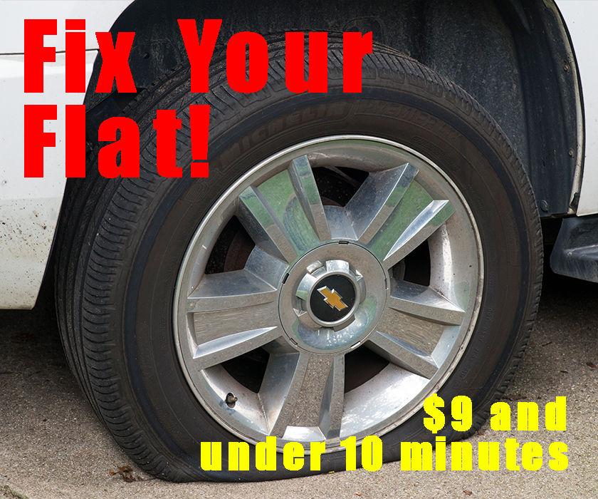 Fix a Punctured Tire