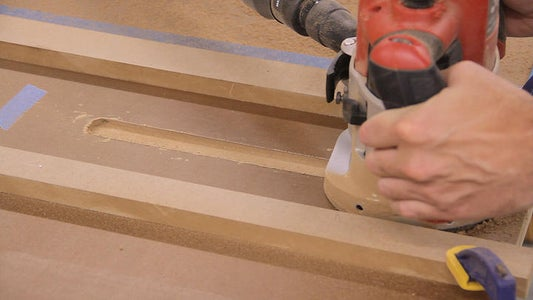 Routing the Miter Gauge Grooves