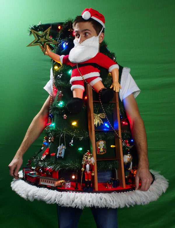 UGLY CHRISTMAS SWEATER DIY 2013 (Tipping the Ladder)