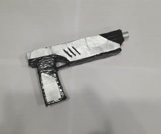 Foam Board Mandalorian Blaster