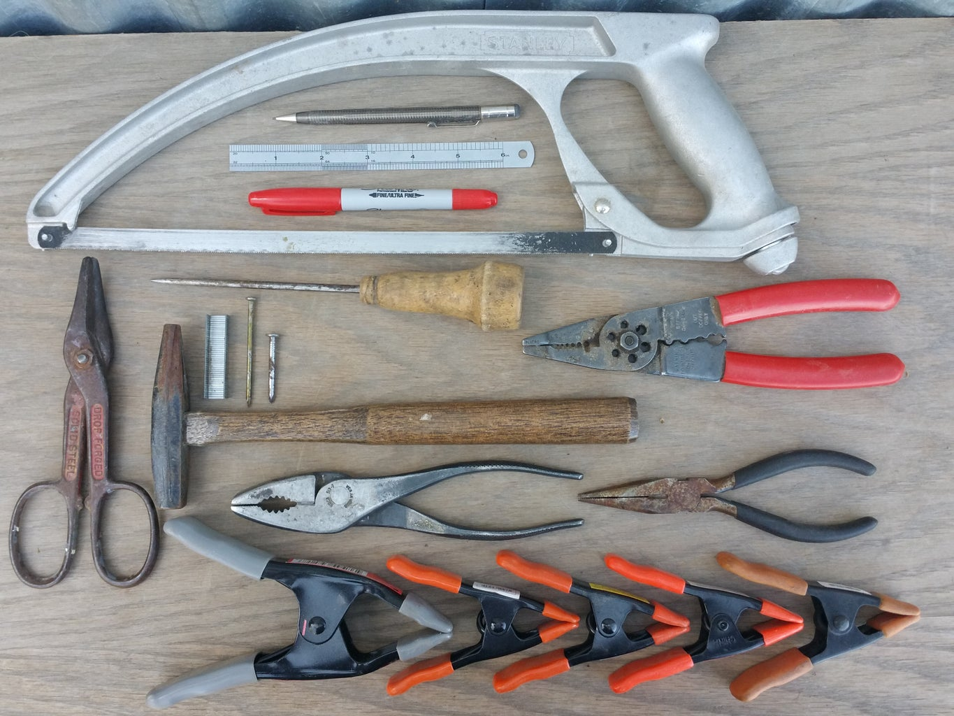 Getting Started: Tools and Materials.