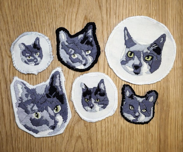 Embroidered Patches From Photos