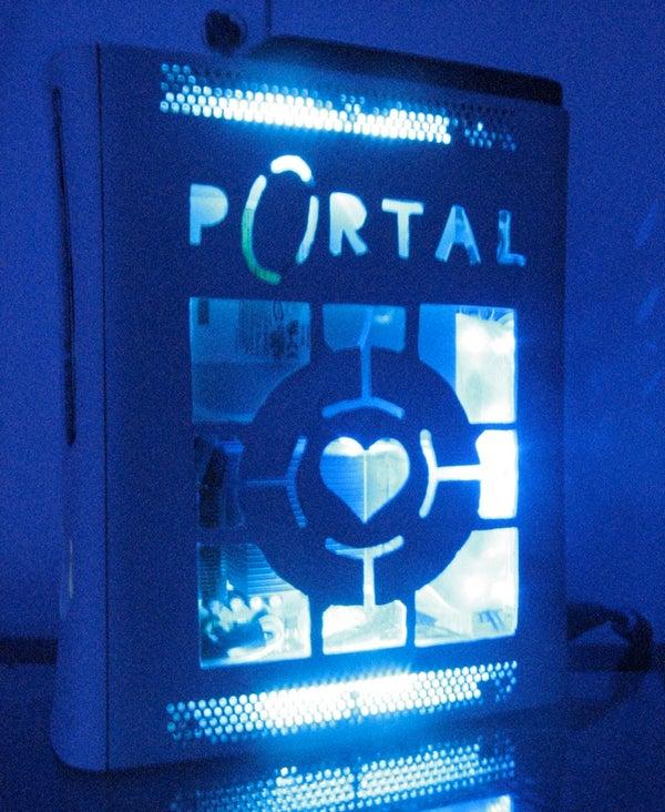 Xbox 360 Cold Cathode Lighting