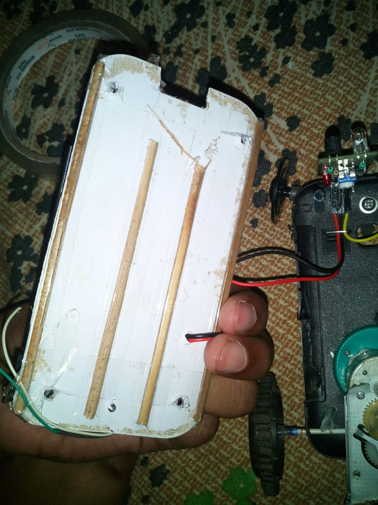 Making Fix the Circuit and Remaning Parts and Body