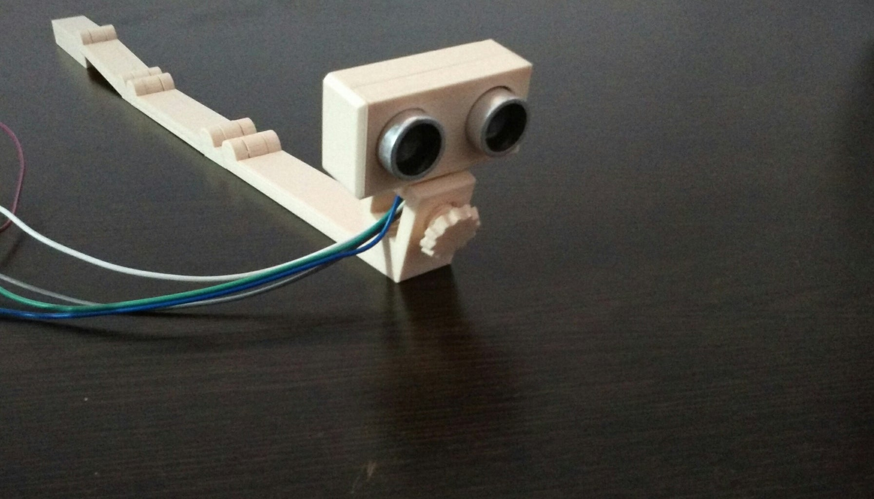 Mounting Sonar Assembly on Stick