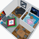 Epic Living Room - Scene for Tinkercad Competition