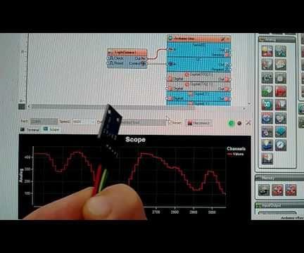 Arduino Nano: BH1750 Ambient Light I2C Sensor with Visuino
