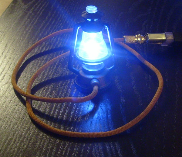 Steampunk USB Mini-Lantern