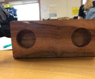Wooden Passive IPhone Speaker!