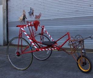 Bicycle Chariot: Santa Sleigh Edition