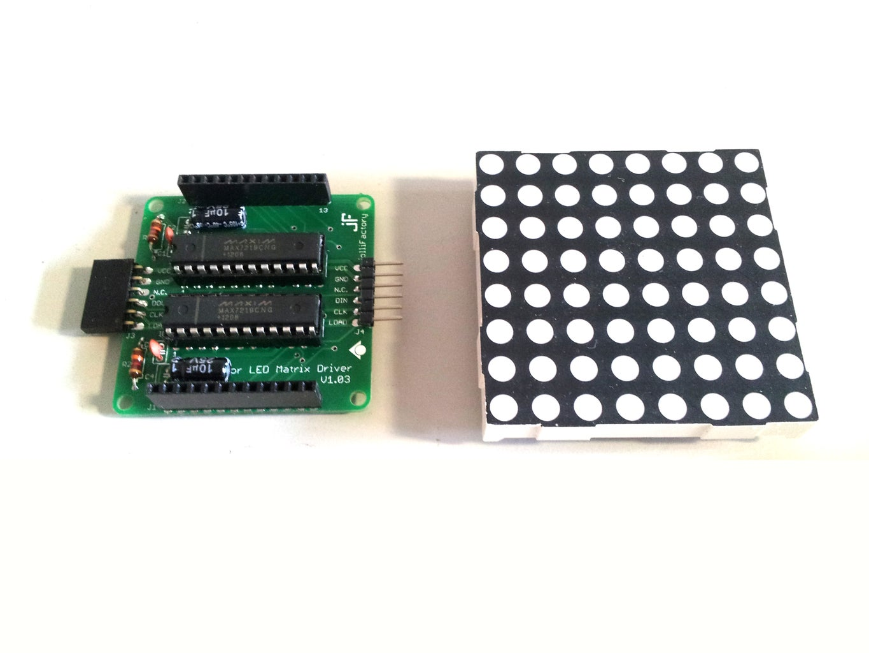 LED Matrix Driver Module Assembly