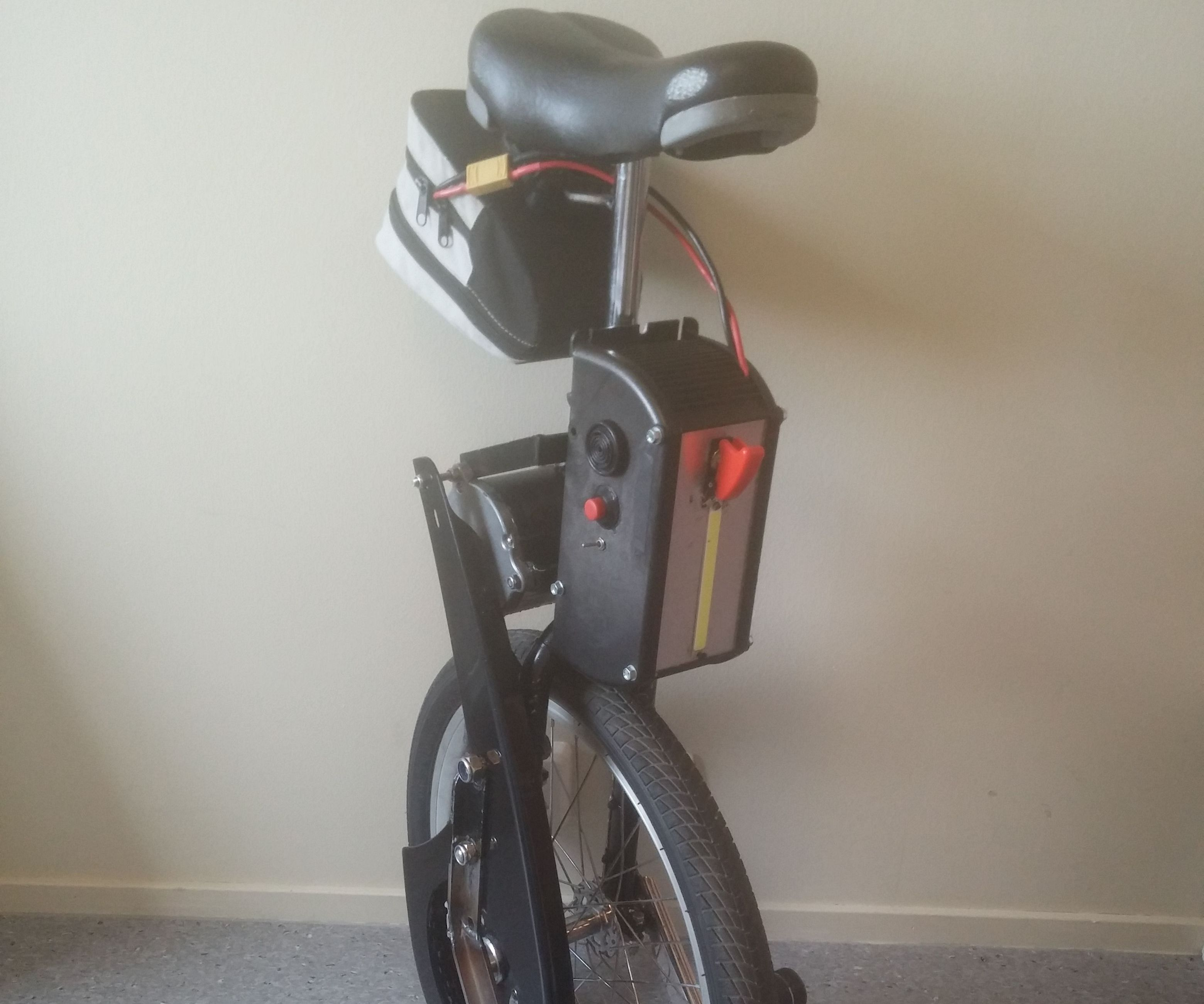 Electric unicycle Arduino DIY