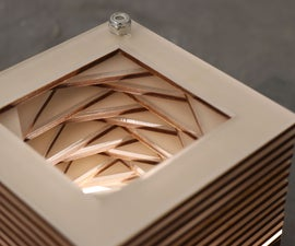 Dynamic Layered Cube Light (Cubillumine)