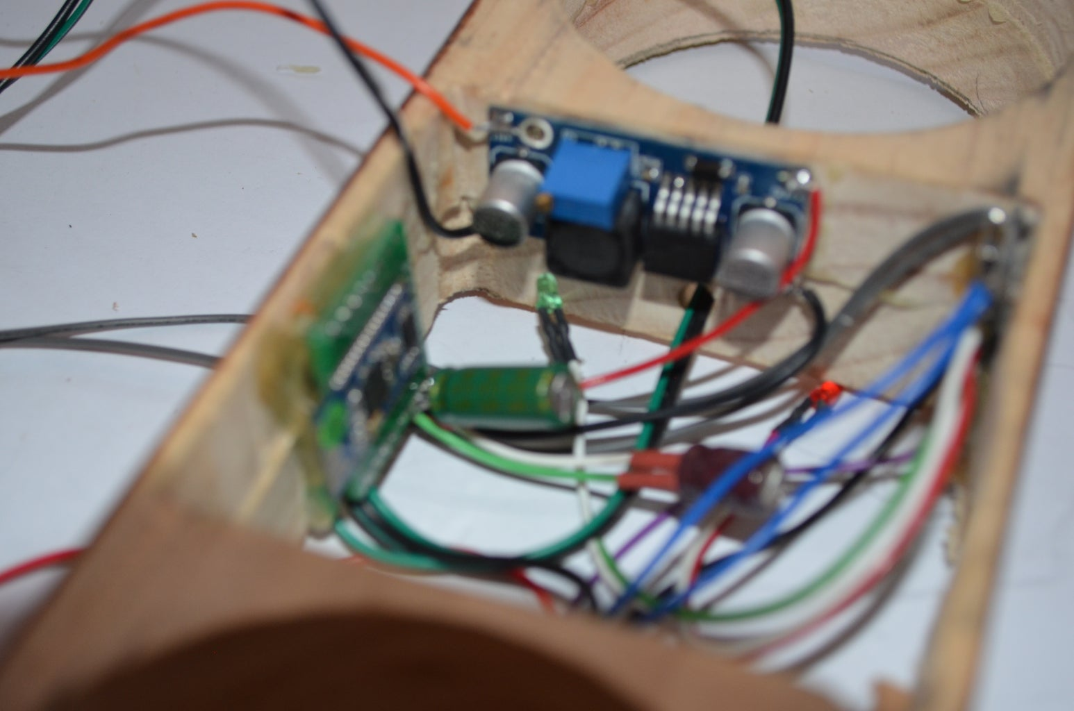 Mounting the Electronics