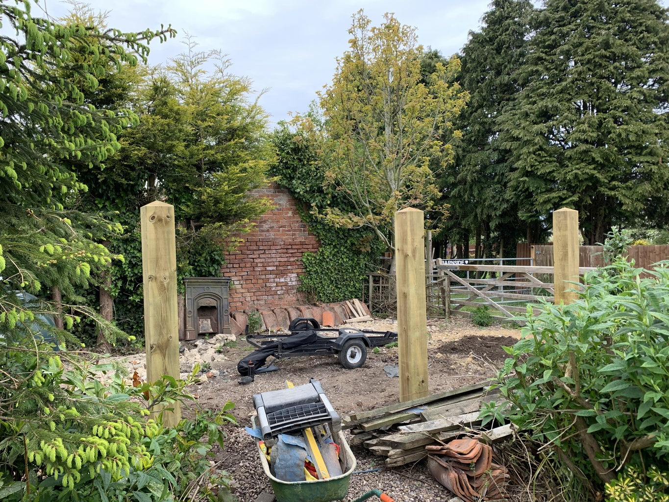 Starting the Outbuilding