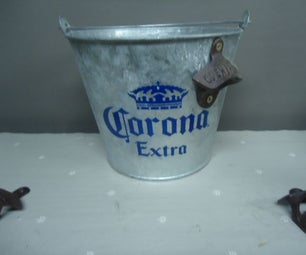 Bucket With Bottle Opener Attached