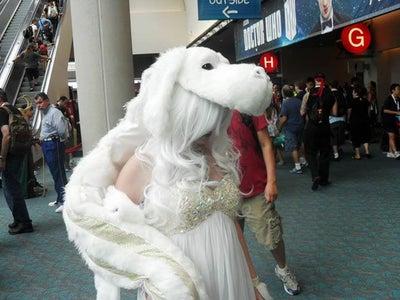 Lady Falcor Costume