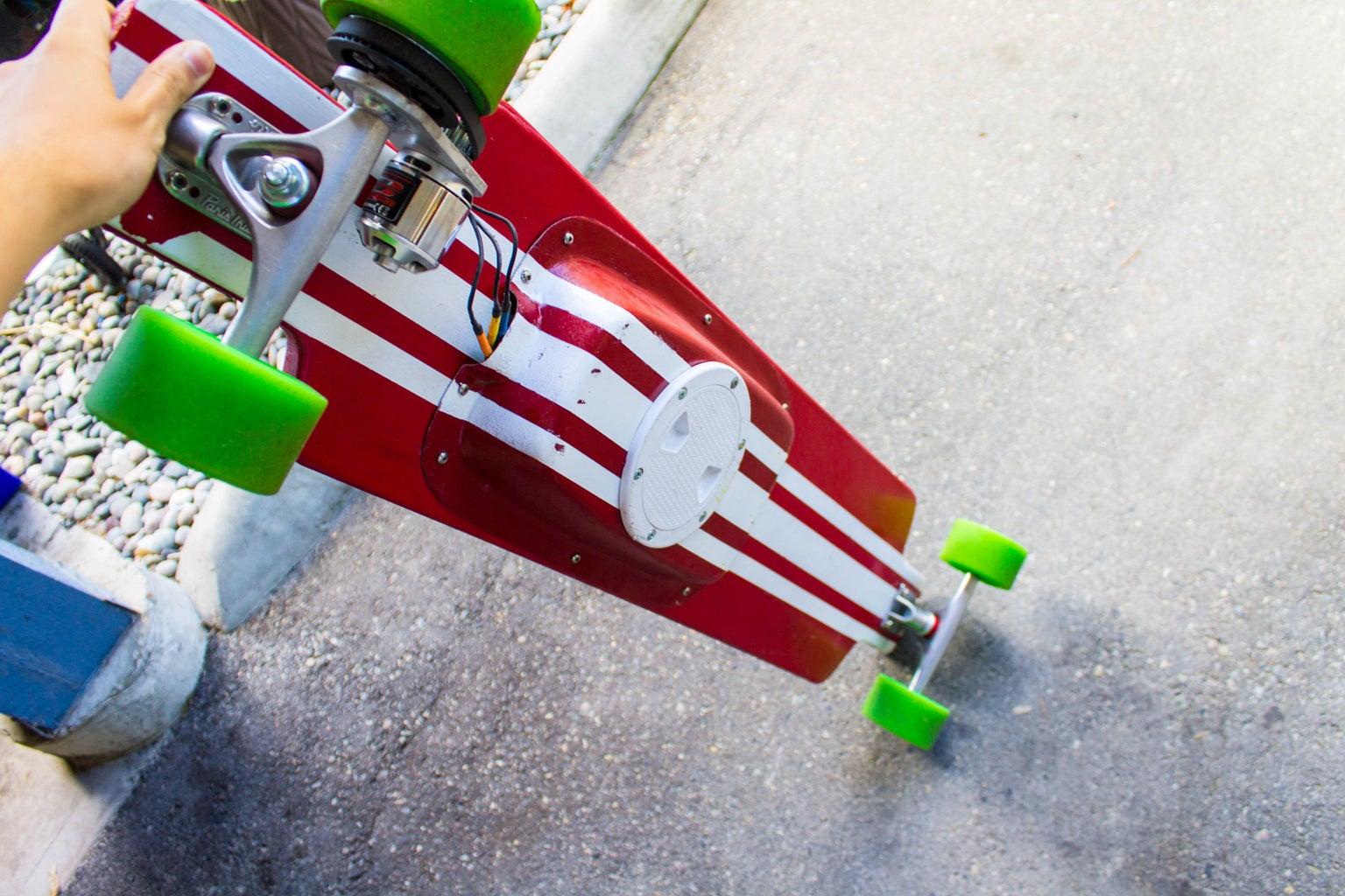 DIY Electric Longboard for $300