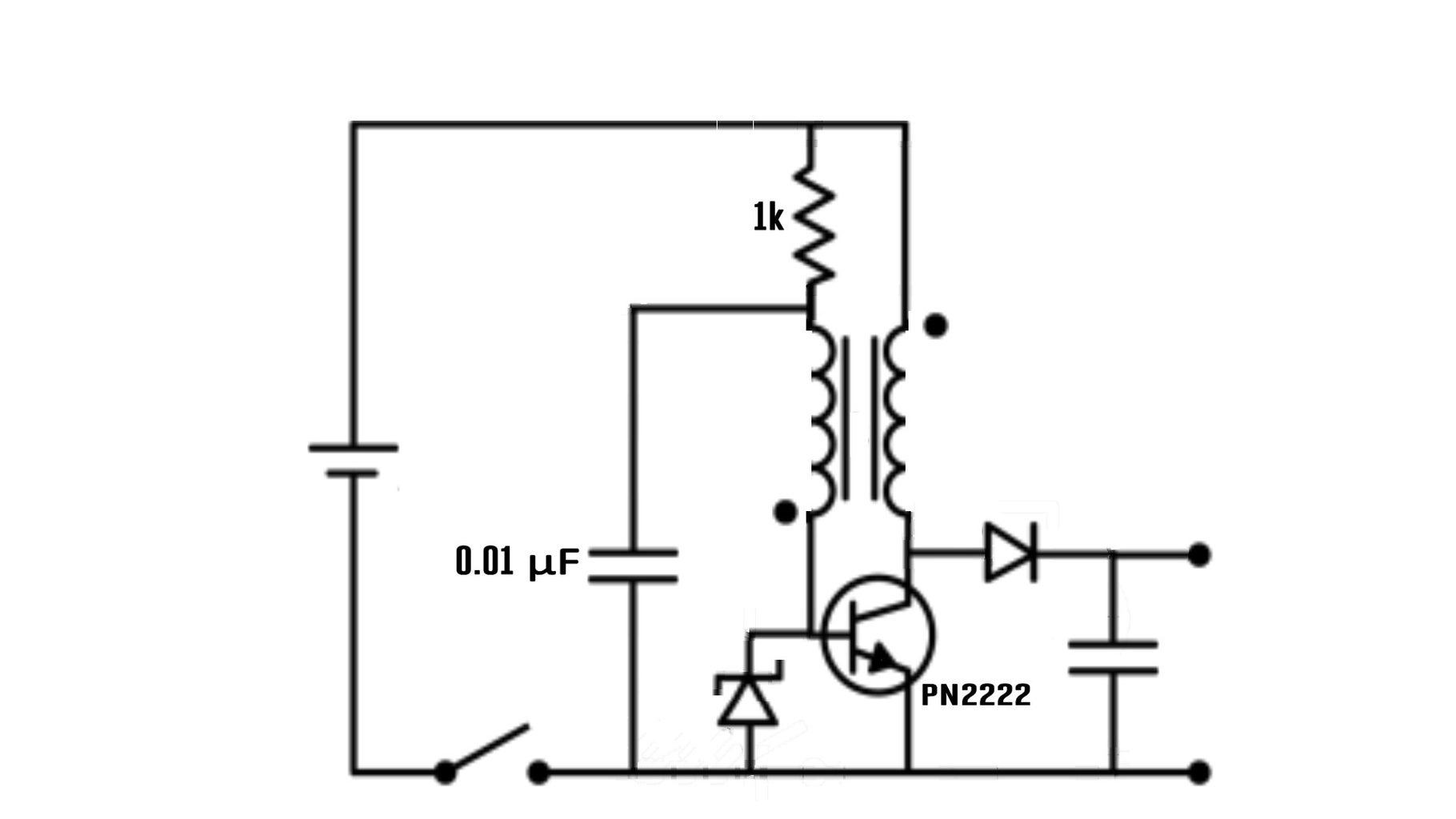 Modified Joule Thief That Can Act As a Battery Charger