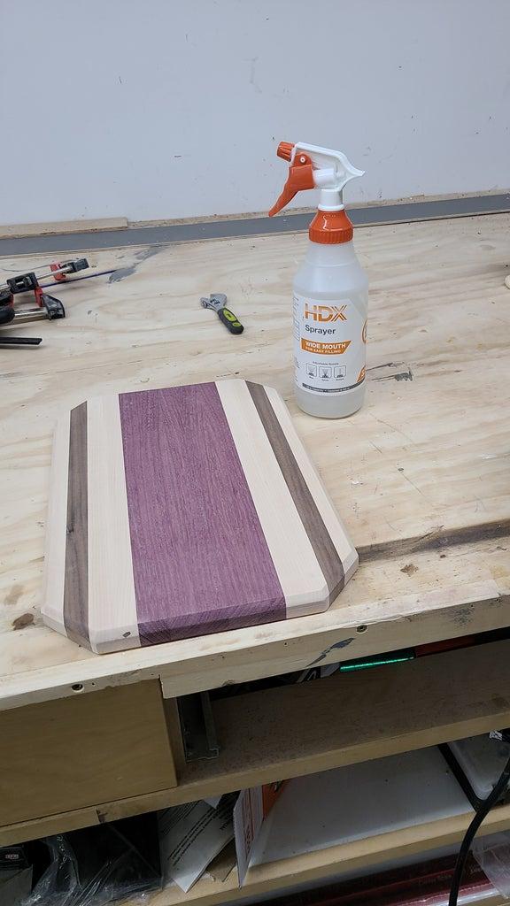 Step 11: Finer Sanding