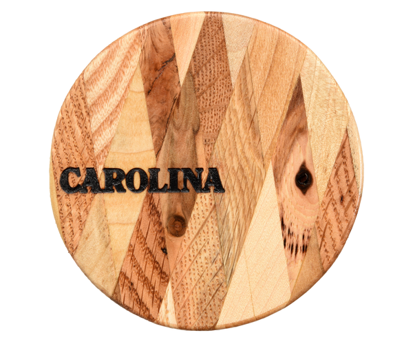 Pallet Wood Coasters With Diamond Pattern
