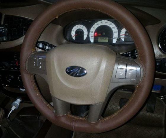 Steering Wheel Custom Leather Cover
