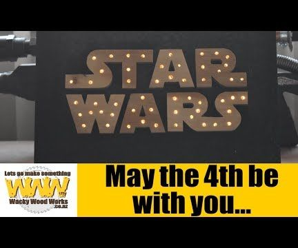 Star Wars... May the 4th Be With You.