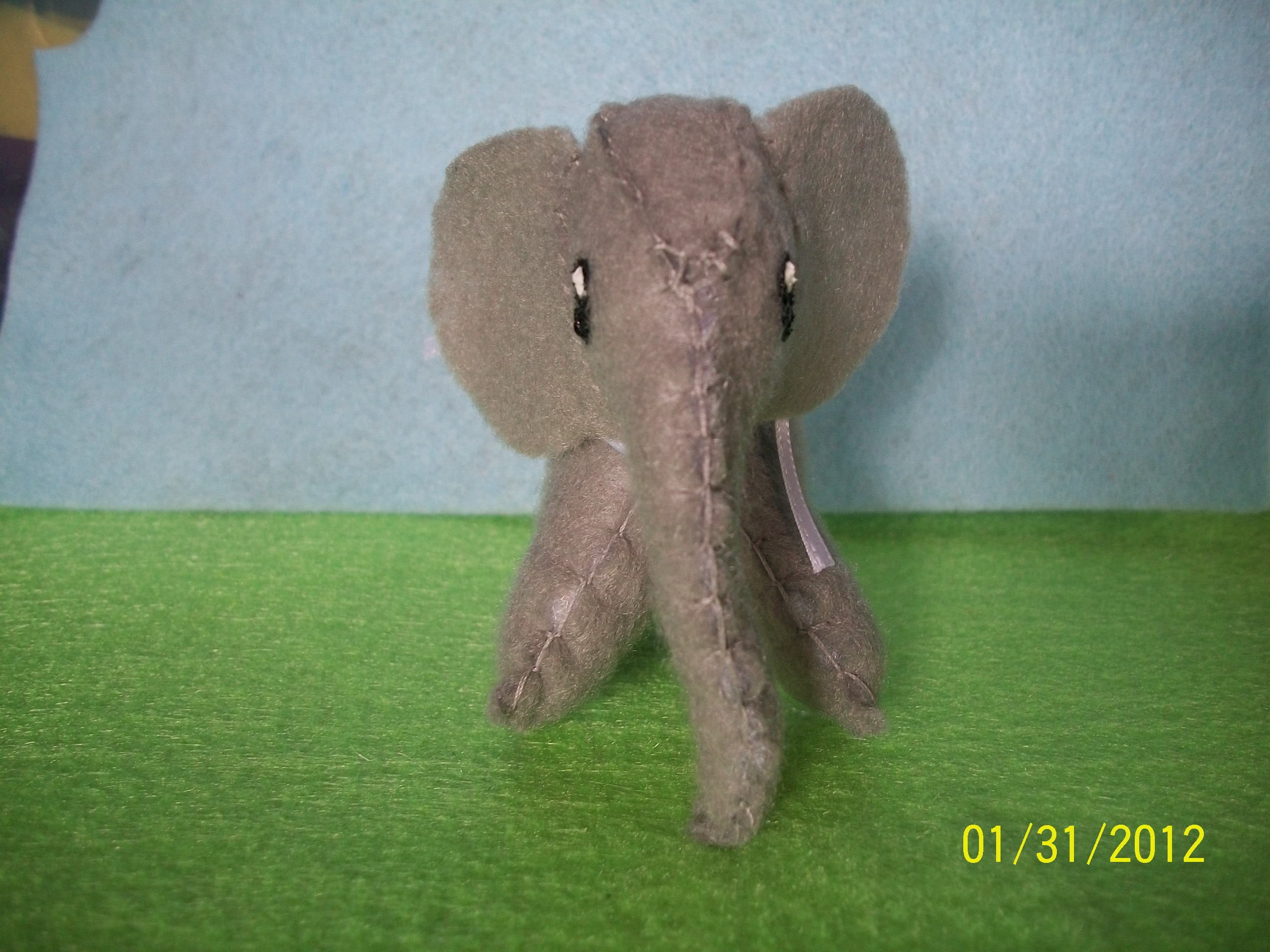 Felt Elephant Softie