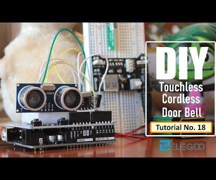 Covid Free Contactless Cordless Bell Using Arduino and RF