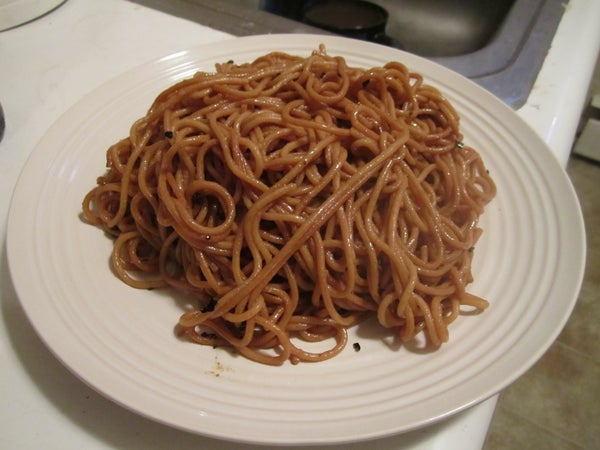 Hot and Dry Noodles -- Re Gan Mian (�rb)