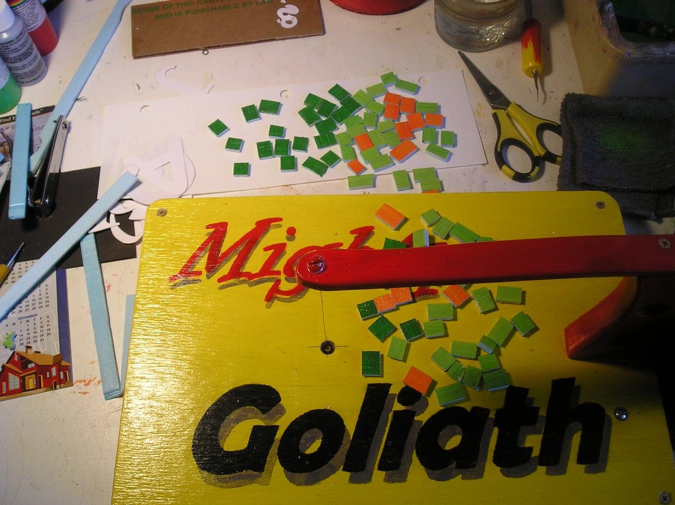 """Make Styrofoam """"Tiles"""""""