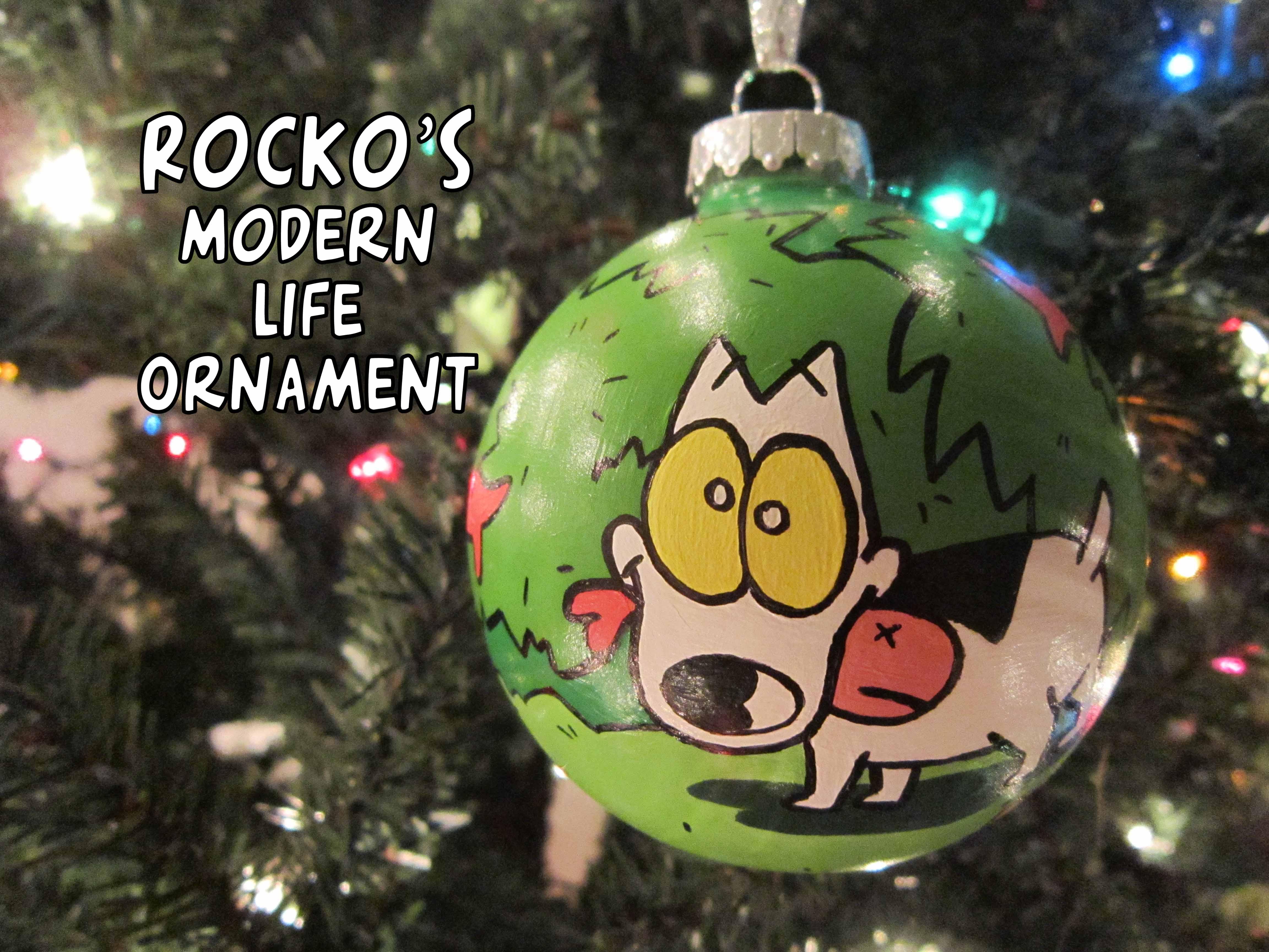 ROCKO'S MODERN LIFE ORNAMENT (SPUNKY)