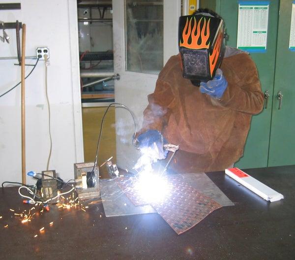 Build a Microwave Transformer Homemade Stick/Arc Welder