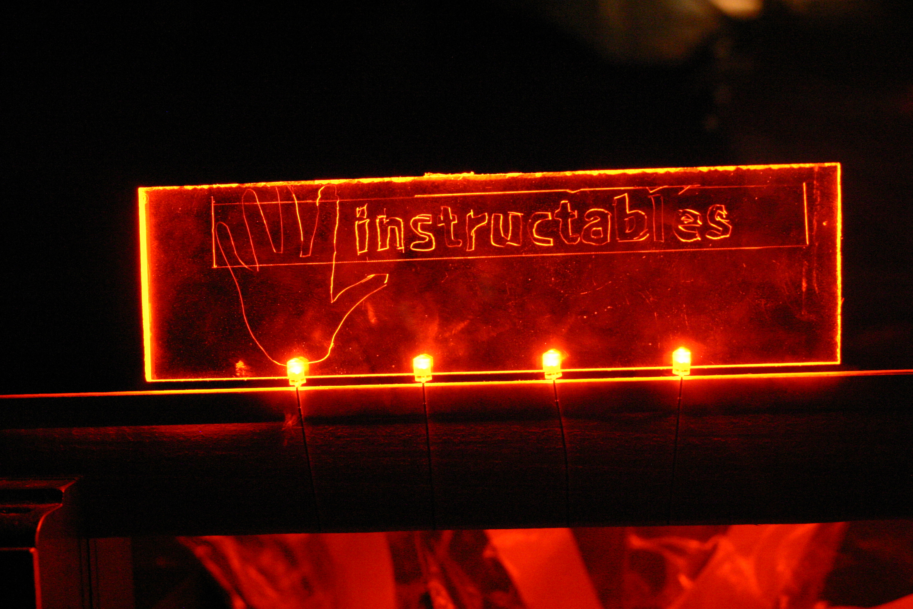 Make Your Own Custom Glowing Etches
