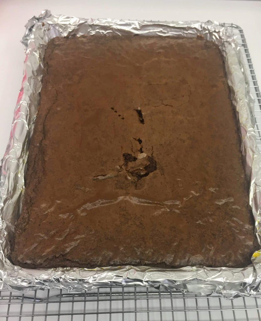 Make the Brownie Layer