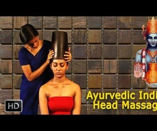 Ayurvedic Indian Head Massage - SIRO VASTI - Oil Massage for Relaxation, Rejuvenation & Stress