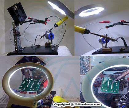 How to Make an All in One Homemade Soldering Stand