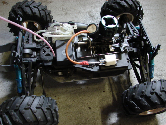 Nitro RC Nos style boost kit very simple
