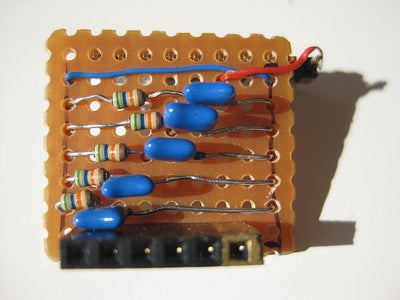 Pullup and Low-pass Filter Circuit