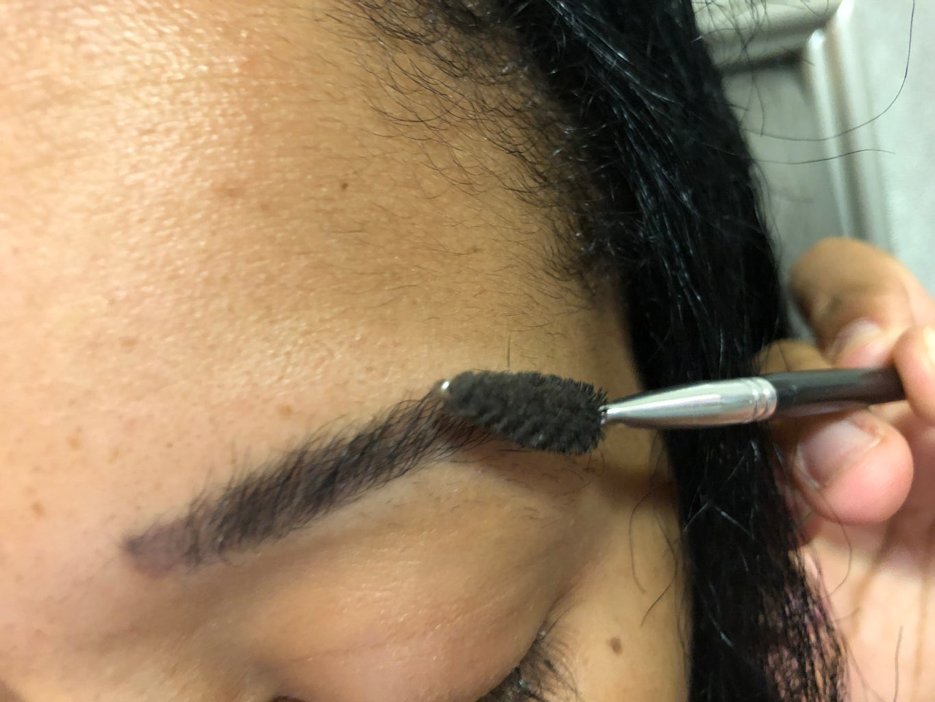 Getting the Eyebrows Ready