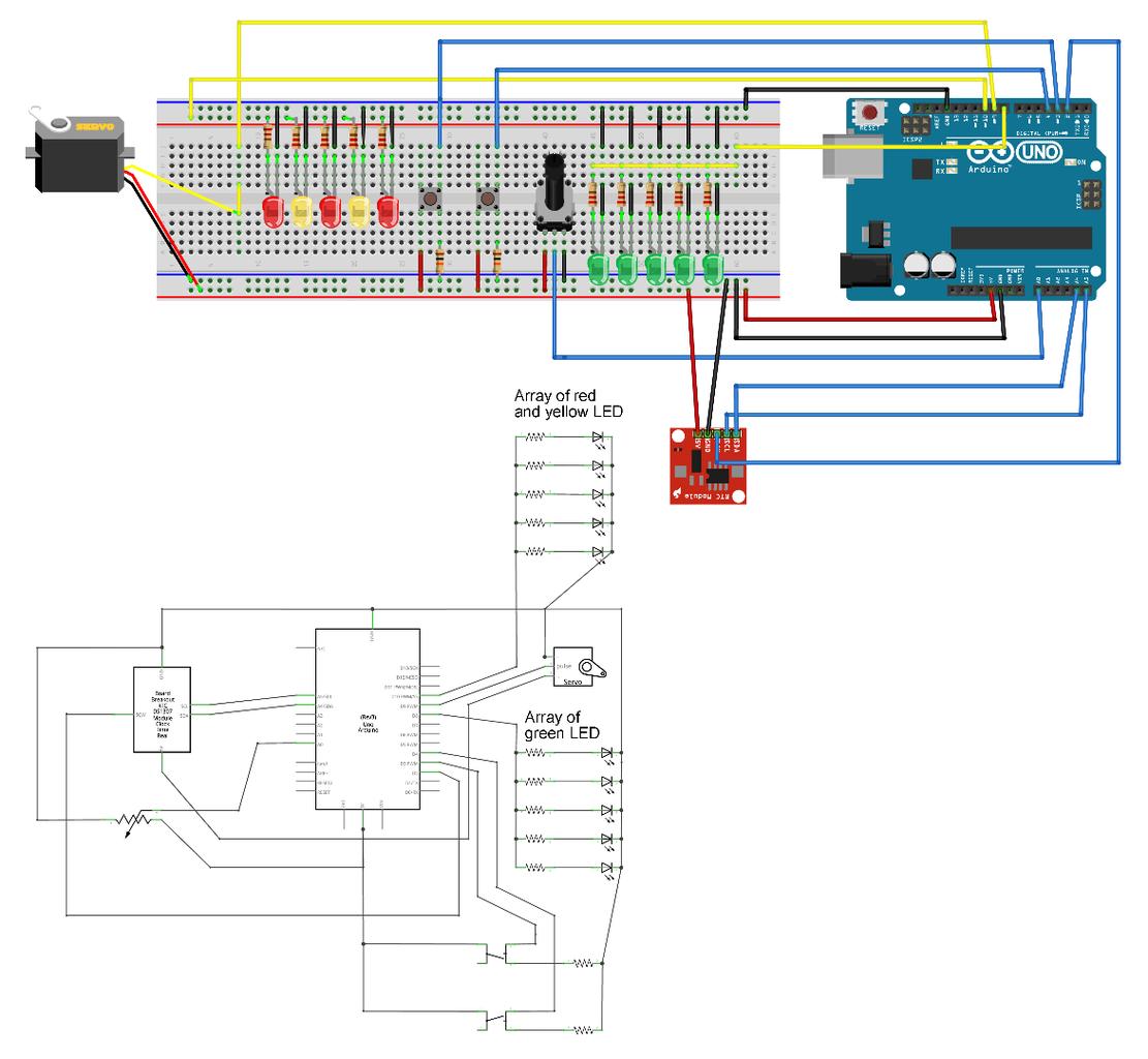 Designing the Arduino Circuit