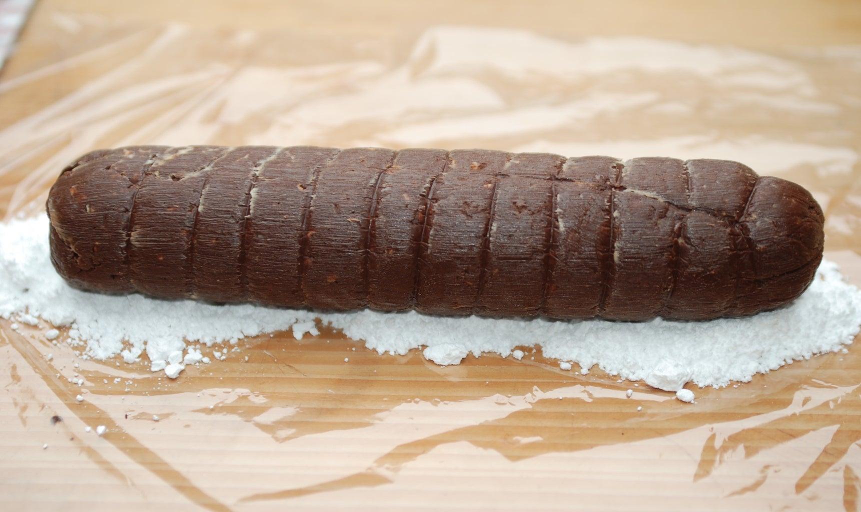 Chocolate Salami - Dressing Up